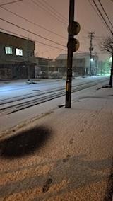 20171211外の様子夜遅く雪4
