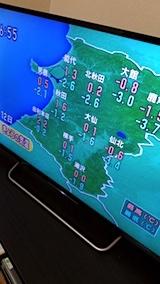 20171212NHKテレビ今日の気温