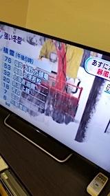 20171212NHKテレビ18時現在の積雪深
