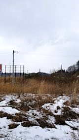 20180110外の様子太平山見えず