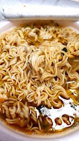 20180113お昼ご飯台湾のインスタントラーメン2