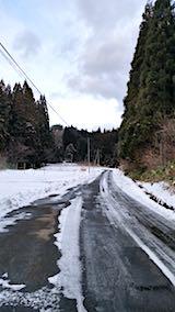 20180113山からの帰り道の様子峠道