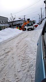 20180131小路の除雪作業