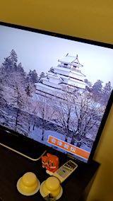 20180209NHKテレビ会津若松鶴ヶ城