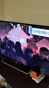 20180211NHKテレビ米沢上杉雪灯籠まつり