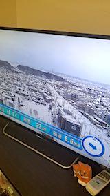 20180213NHKテレビ秋田市内の様子