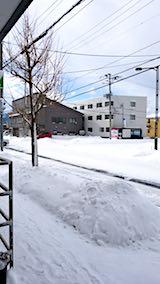 20180213外の様子昼前歩道1