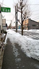 20180215外の様子朝歩道1