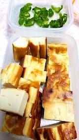 20180215お昼ご飯豆富カステラ
