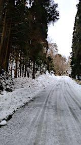 20180215山からの帰り道の様子峠道
