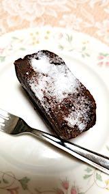 20180216デザートチョコレートケーキ