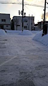 20180220向かい駐車場の雪寄せ後の様子3