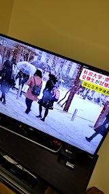 20180308NHKテレビ朝の雪の様子