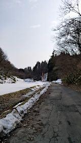 20180313山へ向かう途中の様子峠道