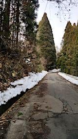 20180313山からの帰り道の様子峠道