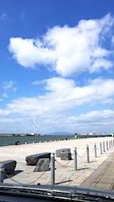 20180320秋田港より男鹿半島を望む