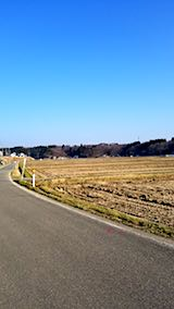 20180327山へ向かう途中の様子田んぼ