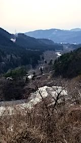 20180405仙岩峠より秋田新幹線を望む