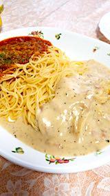 20180413お昼ご飯スパゲティー