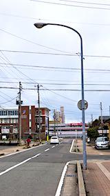 20180414近くの公園へ向かう途中の様子秋田新幹線