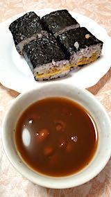 20180414お昼ご飯巻き寿司