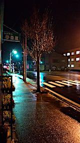20180414外の様子夜遅く雨降り1