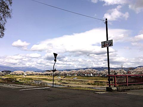 20180416会津美里町宮川の千本桜