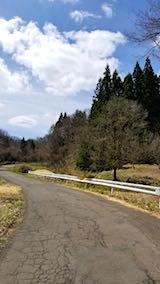 20180417山へ向かう途中の様子峠道
