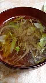 20180419晩ご飯野菜スープ