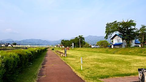20180501会津の朝宮川河川敷インターバル速歩6
