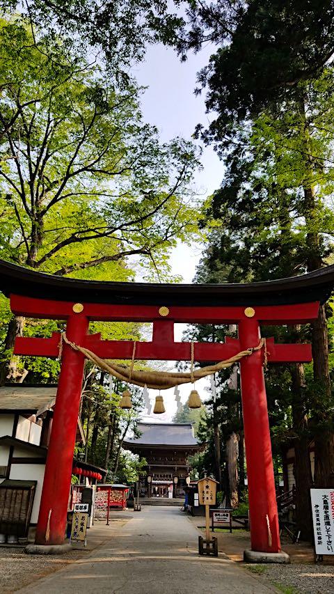 20180501伊佐須美神社大鳥居