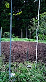 20180512耕耘機による耕作後の野菜畑の様子1