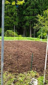 20180513野菜畑の耕す作業終了