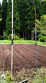 20180513野菜畑のうね作り2
