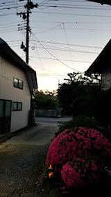 20180601外の様子夕方夕焼け空2