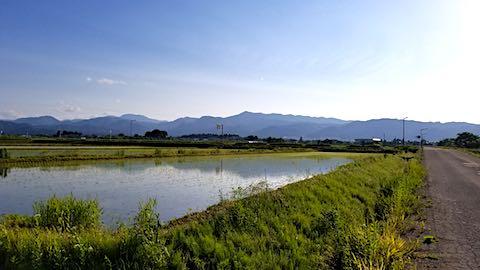 20180602素晴らしい青空に恵まれた会津盆地1