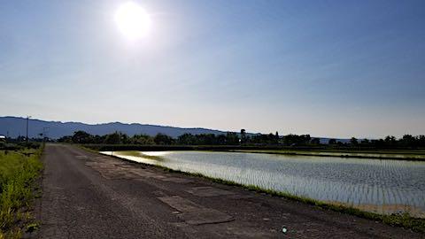 20180602素晴らしい青空に恵まれた会津盆地2