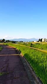 20180602速歩途中に望んだ会津磐梯山1