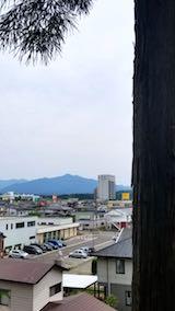 20180606神社から望んだ太平山の様子