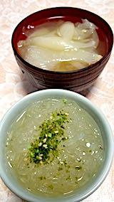20180612お昼ご飯タマネギスープ