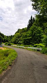 20180616山へ向かう途中の様子峠道