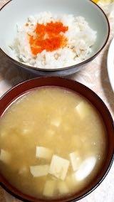 20180619晩ご飯納豆汁