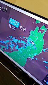 20180627秋田県内のレーダーによる雨雲