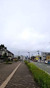 20180705速歩からの帰り道東の空