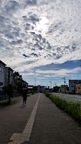 20180709速歩からの帰り道で望んだ東の空