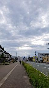 20180710速歩からの帰り道で望んだ東の空