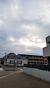 20180715速歩へ向かう途中の西の空