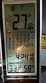 20180727室温33.2度