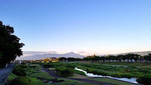 20180811速歩途中に望んだ会津磐梯山2