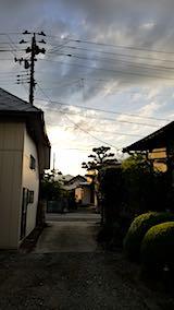 20180814外の様子夕方2